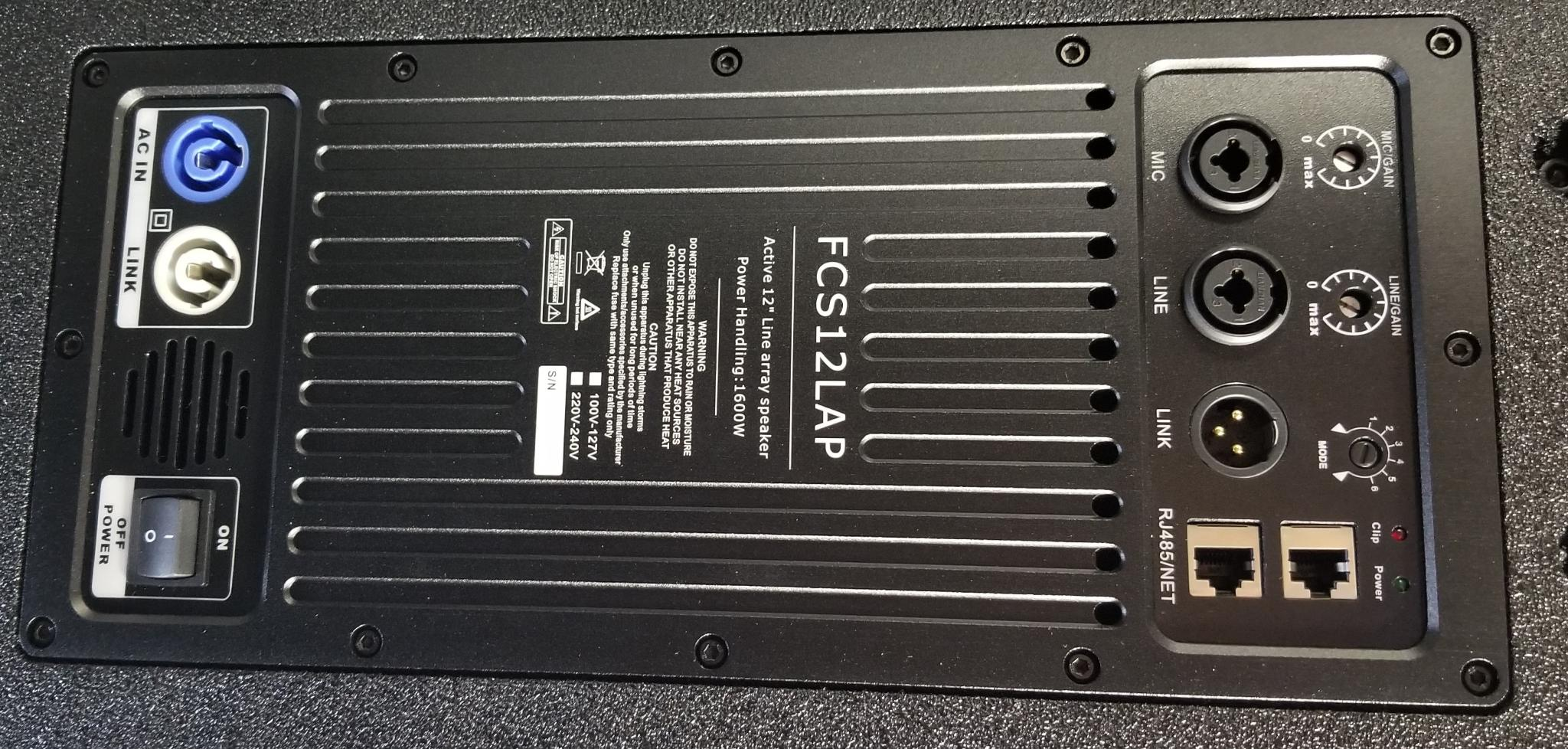 FCS12LAP  Active Line Array Replacement Amp Module $325