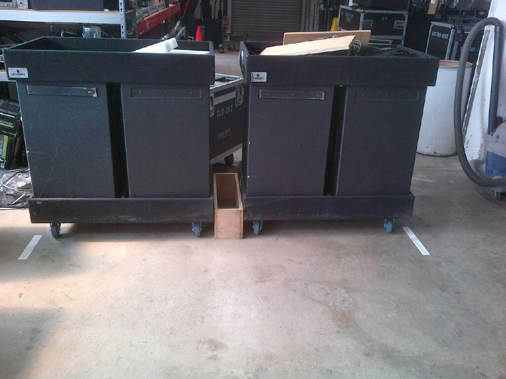 4 GA-4041NGS  line array boxes $4500